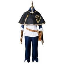 Anime trèfle noir Cosplay Costume Asta Cosplay ensembles complets automne nouveau Anime Asta adulte Costume avec cape