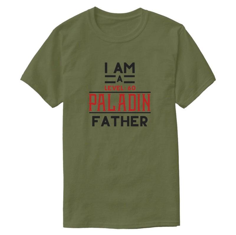 Gedrukt Populaire Paladin Vader Gift Shirt T-shirt 2020 Normale Effen Kleur Tee Shirt O Hals Maat S-5xl Top Kwaliteit