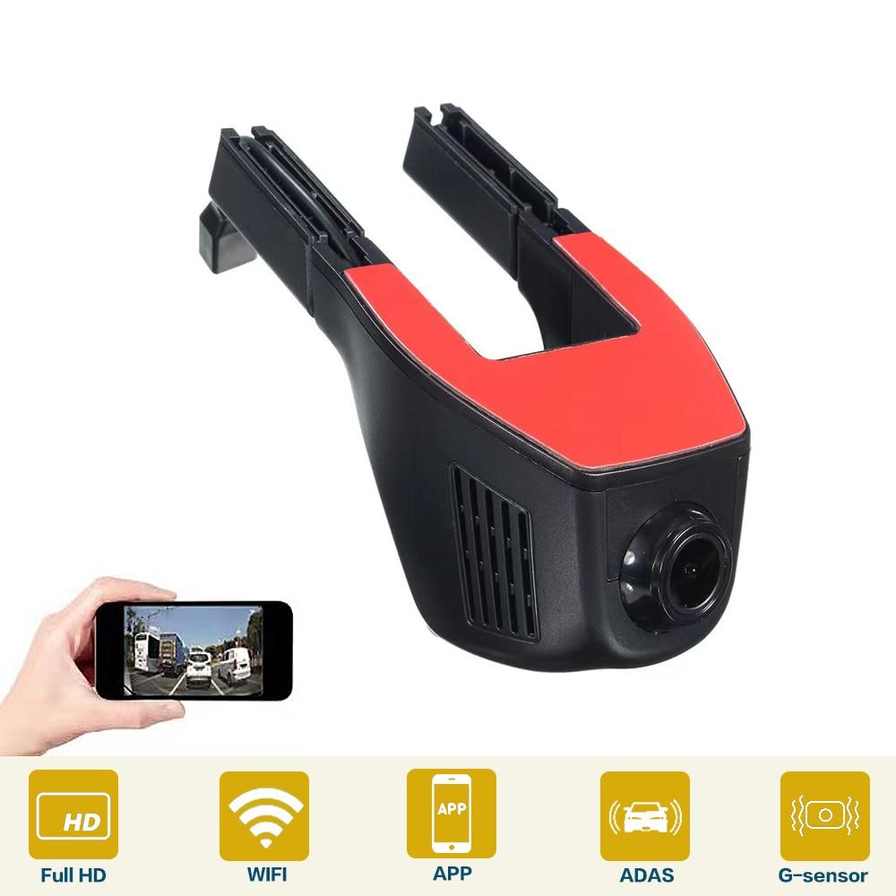 WIFI DVR Dash HD 1080P Driving Recorder Car Camera Night Version Cycle Hidden G-Sensor Universal High Quality