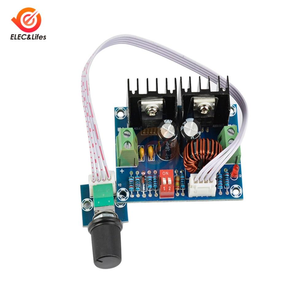 Módulo regulador de voltaje DC-DC de alta potencia 200W 8A XL4016 módulo convertidor reductor ajustable con potenciómetro externo