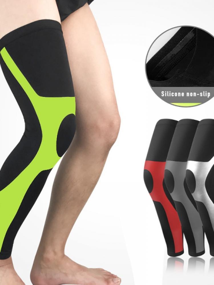 Мужские и женские удлиненные спортивные колготки для бега, фитнеса, баскетбола, футбола