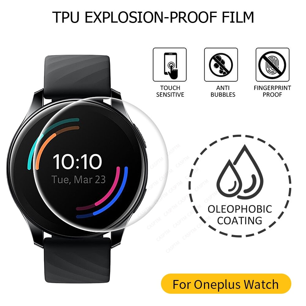 Smart Watch Screen Protector For OnePlus Watch TPU Film For OnePlus Watch Protective Film For One Pl
