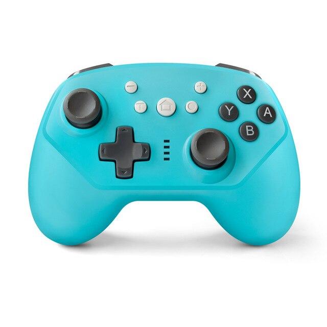 Беспроводной Bluetooth геймпад для Nintendo Switch Pro Контроллеры геймпады с осью и вибрацией Mando Pro Switch Lite, джойстик