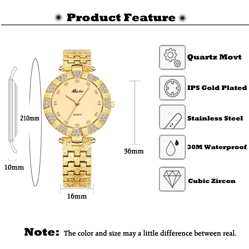 MISSFOX Women's Watch With Bracelet Silver Vintage Elegant Evening Dress Jewelry Women Quartz Waterproof Stainless Steel Clock enlarge
