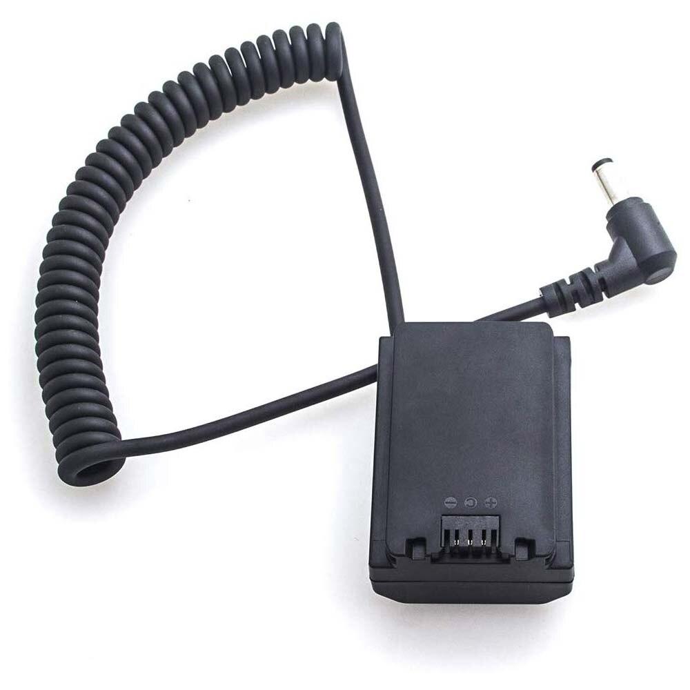Adaptador de Cabo de Alimentação para Conector dc para Decodificado Np-fz100 para Sony Fotga Acoplador Manequim Bateria A7iii A7riii A7siii dc
