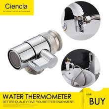 Brass Sink Faucet Diverter Valve to Sink Hose Sprayer,Faucet Splitter for Kitchen,Sink Faucet Replacement Part M22 x M24