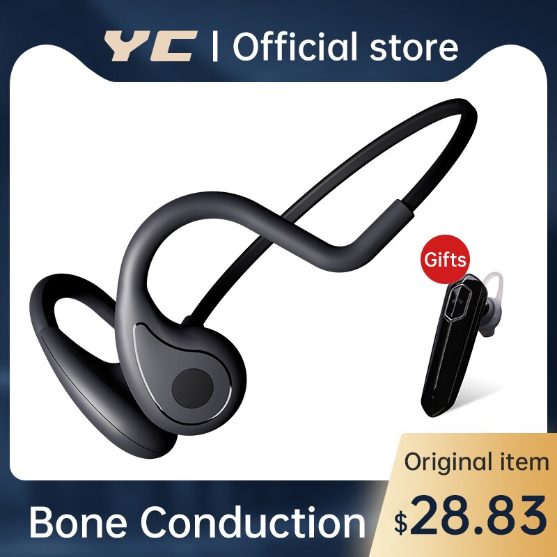 For Xiaomi Sony Wireless Earphone Bone Conduction Bluetooth 5.0 Headphones Handfree Sports Stereo MP