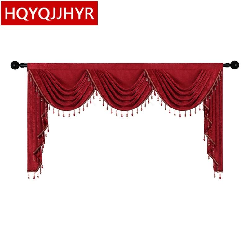 أحمر أزرق بيج بني رمادي 8 ألوان عالية الجودة الستارة مخصصة لغرفة المعيشة نافذة غرفة نوم فندق مطبخ شقة
