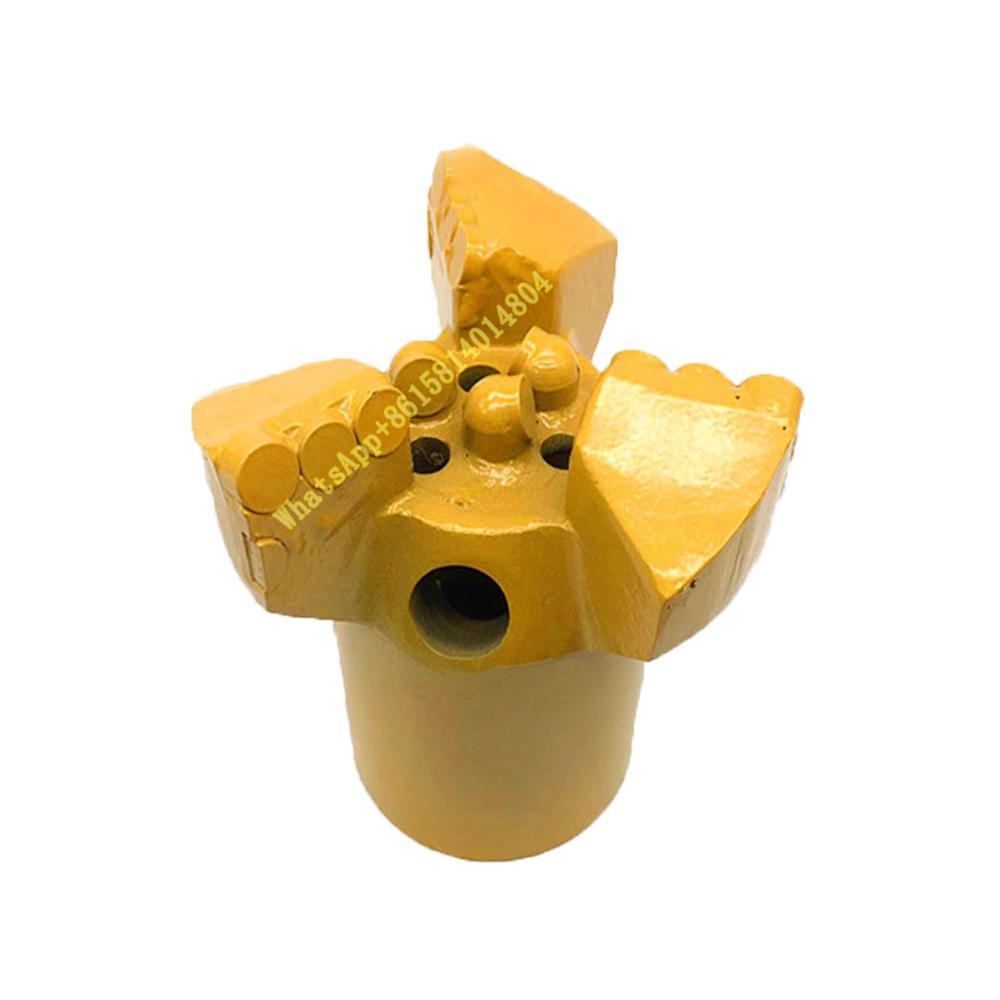 High quality core drilling bit 3 wings concave drills 50mm - 200mm PDC drilling bit geological prospecting bits for 50 / 42 pipe