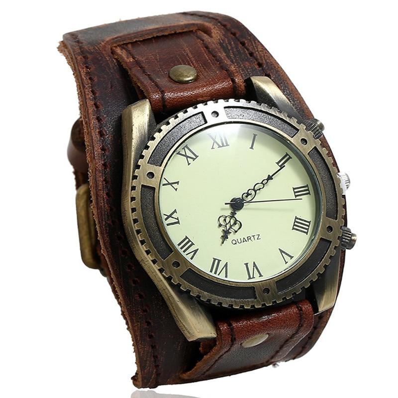 2021 Fashion Sport Mens Watches Male Clocks Punk Watch Leather Bracelets Strap Quartz Fashion Men Watch Gift Relogio Masculino будильник fashion clocks w60 hsd1140