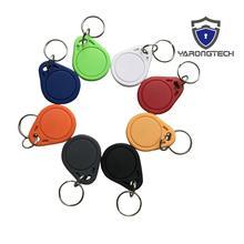 1000pcs/lot rfid Tag 13.56MHZ ISO14443A MIFARE Classic 1k Keyfobs Key tag DHL/Fedex free shipping