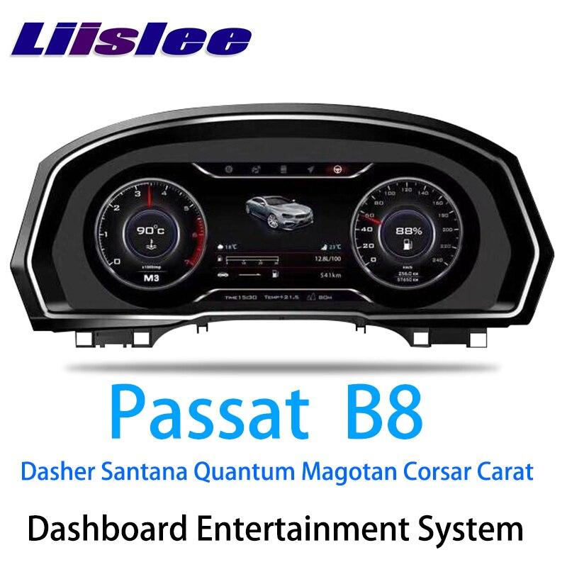 Instrument Panel Replacement LED Dashboard Entertainment Intelligent System for Volkswagen Passat B8 Dasher Santana Quantum