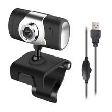 HD 12 Megapixel USB 2,0 Webcam Kamera mit MIC Clip-auf für Computer PC Laptop # T3