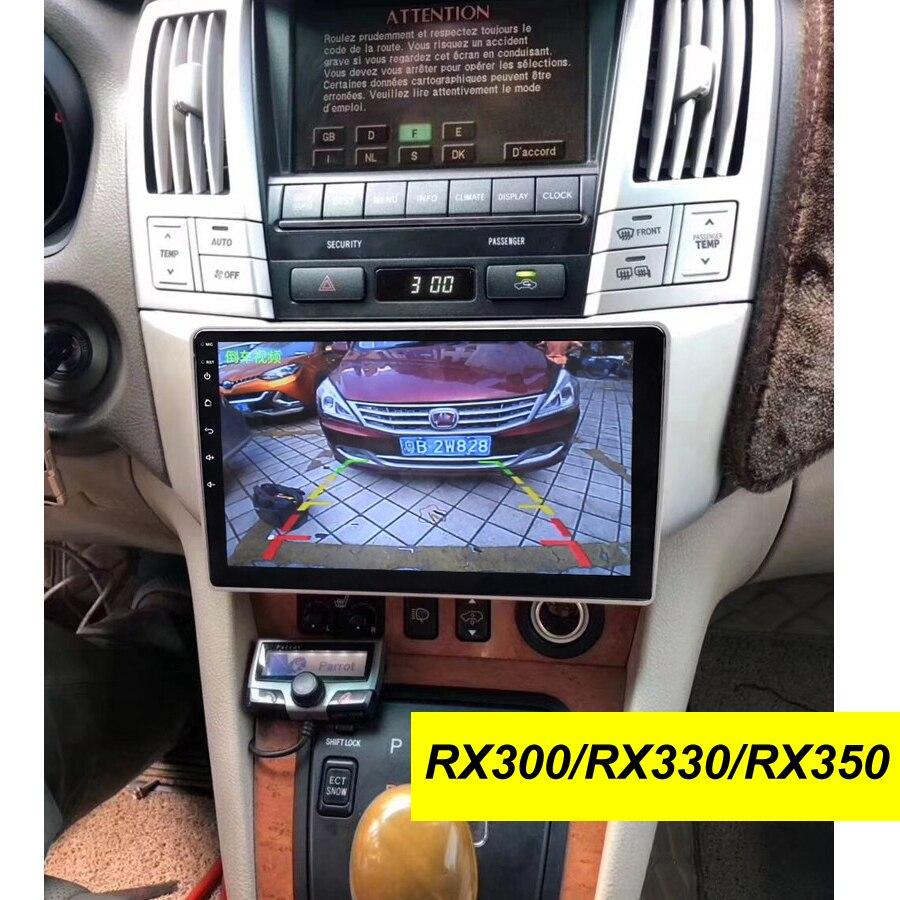 2Din 64GB Android 10.0 Multimídia Carro Dvd Player de Navegação GPS Para LEXUS RX300 RX330 RX350 2009 Toyota Harrier Estéreo unidade de cabeça
