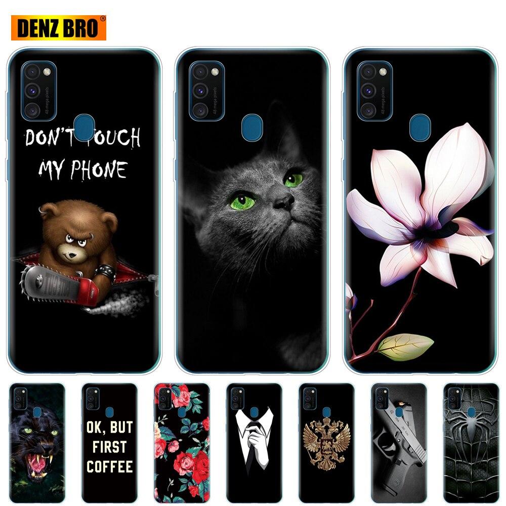 Silicon Case For Samsung Galaxy M30s Phone Case Samsung M30s Back Cover for Samsung Galaxy M30s M 30s SM-M307 Soft TPU Coque