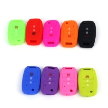 RYHX China Wholesale Well Price Soft  Flip Folding Silicone Car Key Cover Remote Case Protection for