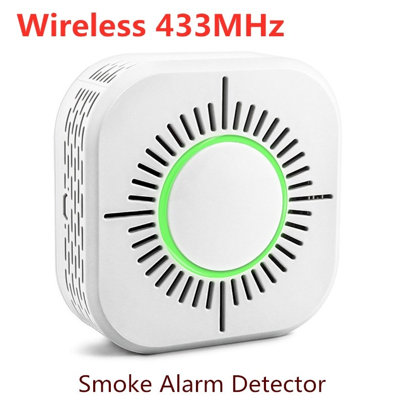 Tuya WiFi Smoke Alarm Fire Protection Smoke Detector Smart Home Wireless 433MHz Security Alarm Sensor Work With Sonoff RF