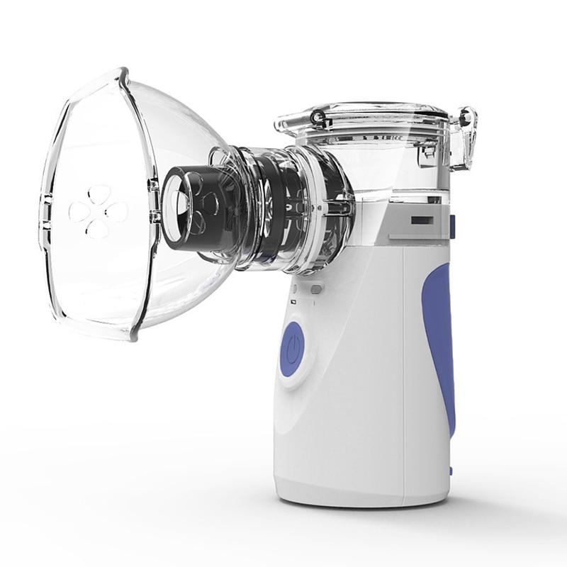 Máquina atomizadora de mano, atomizador silencioso, Mini nebulizador portátil, inhalador de hogar, atomizador de cuidado de la salud del hogar, Humidificador
