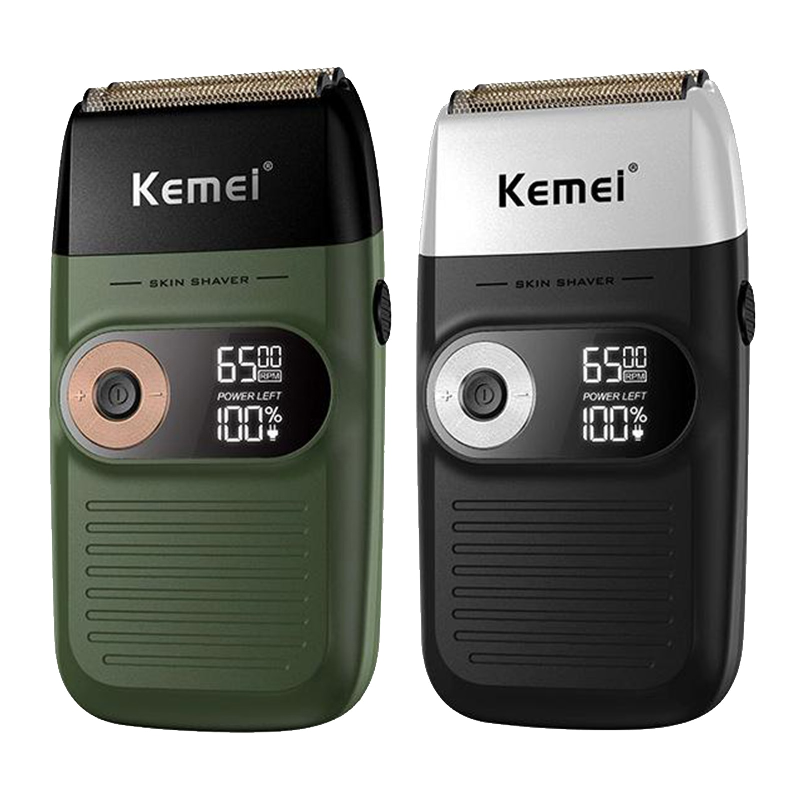 KM-2026 Portable Electric Shaver USB Beard Trimmer Shaving Machine for Men