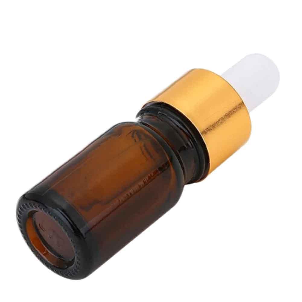 1pcs 10ml Empty Travel Mini Portable Essential Oil Dropper Cover Glass Refillable Bottles Drop Liquid Bottles Skin Care Tools