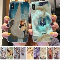 yinuoda clouds clow angels phone case for iphone 11 12 pro xs max 8 7 6 6s plus x 5s se 2020 xr case