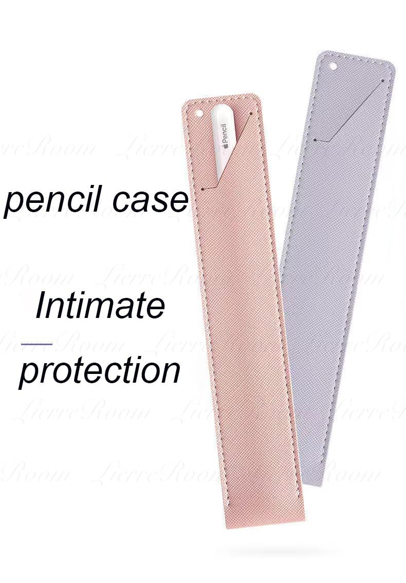 Чехол для Apple Pencil 2 1, универсальный цветной чехол для IPad, чехол-карандаш, нескользящий защитный кожаный чехол для Apple Pencil 1 2 чехол