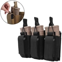 tactical triple mag pouch molle ar m4 5 56 2239mm triple magazine pouch mag holder for rifle and pistol airsoft charger holder