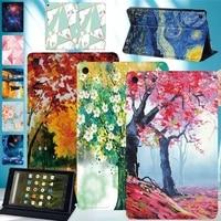 case for amazon fire hd 8 6thfire hd 8 7thfire hd 8 8th hotsale pattern pu leather tablet stand folio cover pen