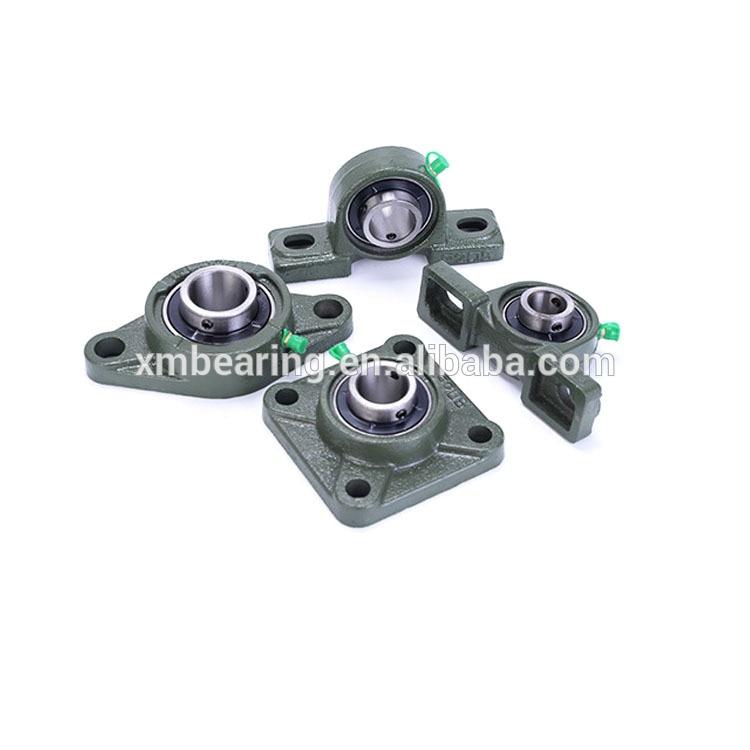 التصميم الحديث للبكرة p215 الفولاذ المقاوم للصدأ وسادة كتلة تحمل sp201