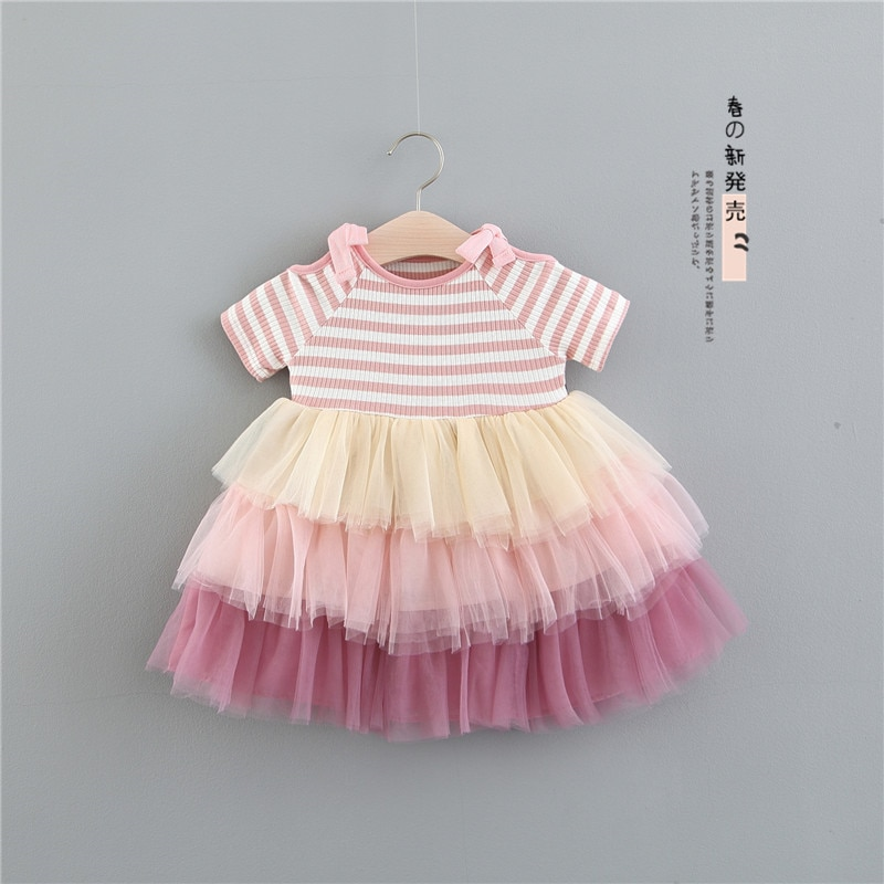 Vestido Infantil para niña, tutú, ropa de princesa