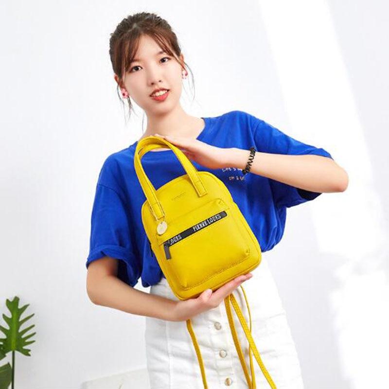 2019 Mini Rucksack Frauen Pu Leder Schulter Tasche Designer Multi-Funktion Kleine Rucksack Weibliche Reisetasche Damen Geldbörsen Mochila