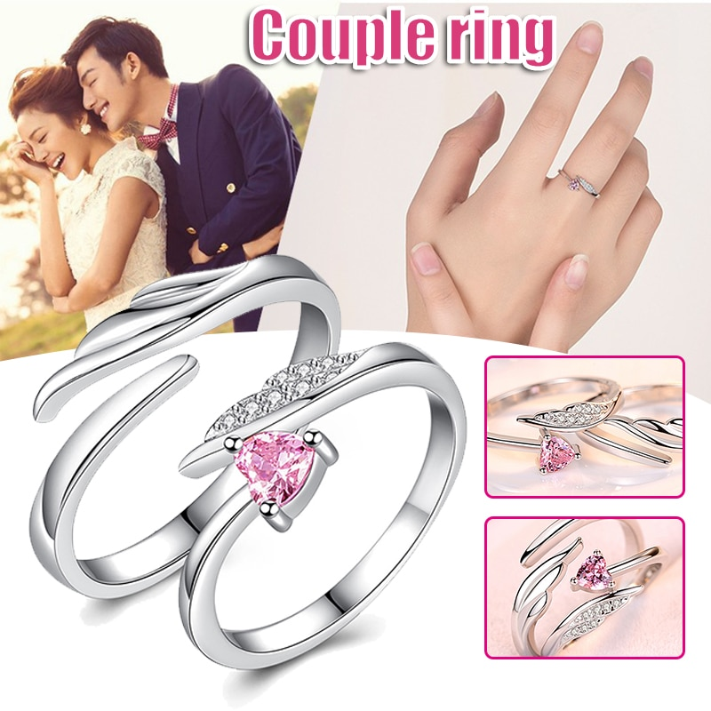 lover's Rings Fury Of Light Adjustable Open Ring Jewelry Gift For Women Men Durable And Not Easy To Fade Engagement Rings