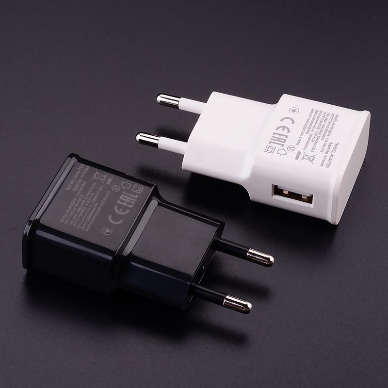 Настенное зарядное устройство с USB-портом, 5 В, 2 А, Type-C, Micro, зарядный кабель для Xiaomi POCO X3, Mi 10T, Note 9, 8, 7 Pro, Redmi 4X, 5A, 6A, 8A, Redmi 9A, 9C-3