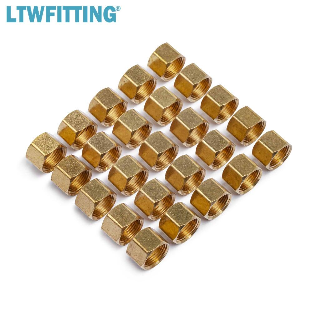 "LTWFITTING 3/8"" Brass Compression Nut,BRASS COMPRESSION FITTING"