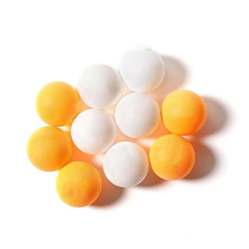 Bolas de ping-pong profissionais 6 peças, multicoloridas para raquete, competição, treinamento, tênis de mesa, acessórios