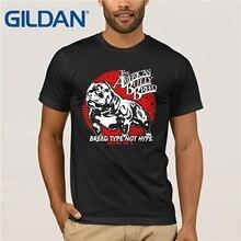 Plus récent 2019 t-shirt hommes t-shirt différentes couleurs haute qualité race Pit Bull American Bully approvisionnement hommes t-shirt graphique