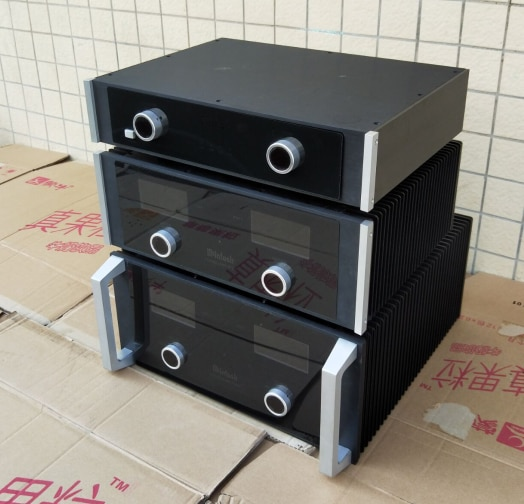 Mcintosh todo o chassi do amplificador de alumínio/caso do pré-amplificador/caixa do ampère/diy (430*90*328mm)