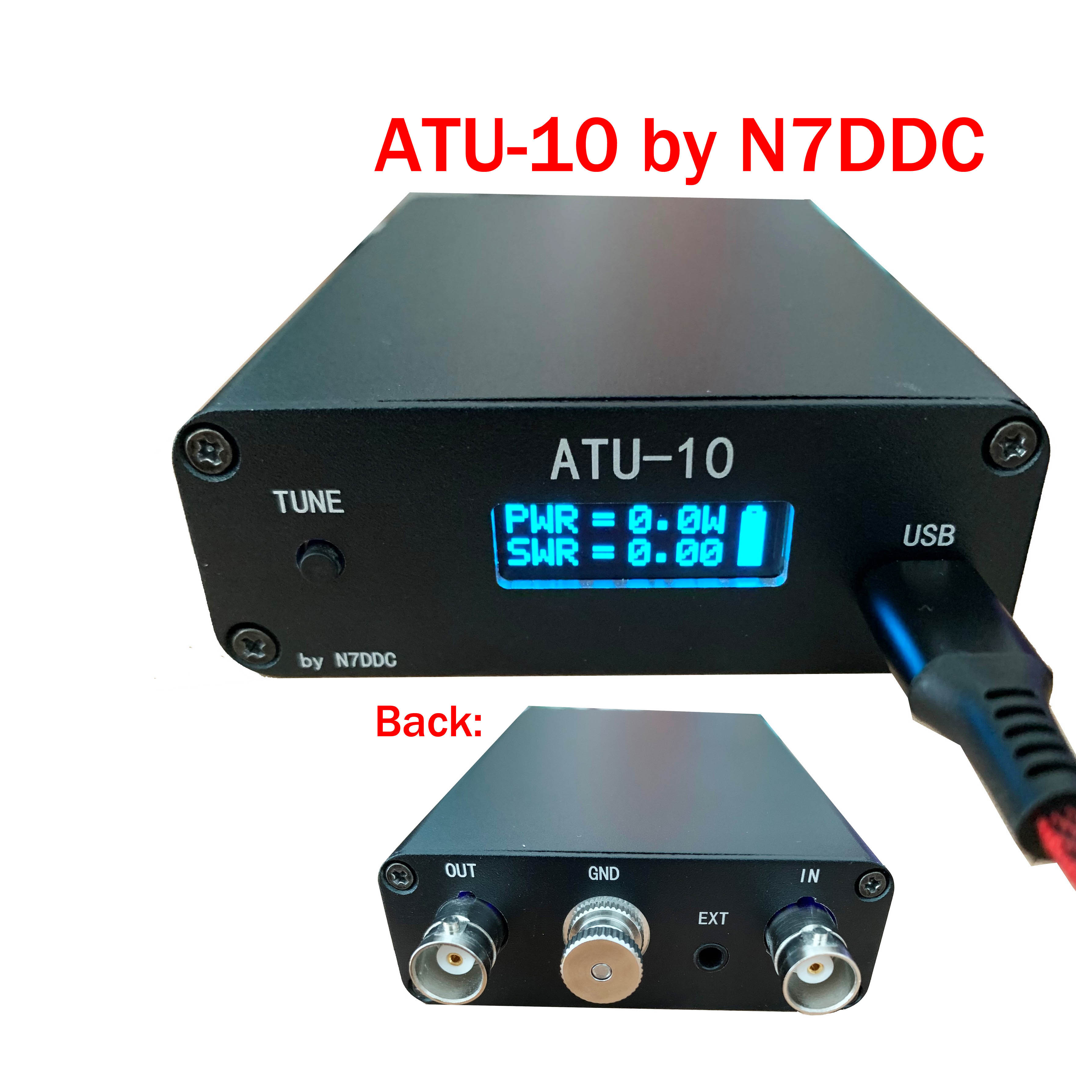 ATU-10 ATU10 QRP بواسطة N7DDC ATU-10 موالف هوائي أوتوماتيكي Tyny QRP