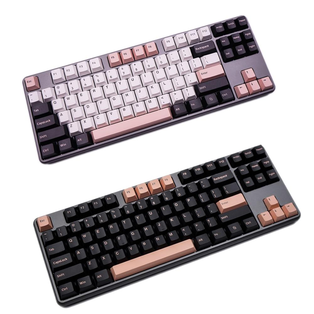 G-MKY 160 مفاتيح الكرز الشخصي أوليفيا غرار Keycap تسديدة مزدوجة سميكة PBT كيكابس ل MX التبديل الميكانيكية لوحة المفاتيح