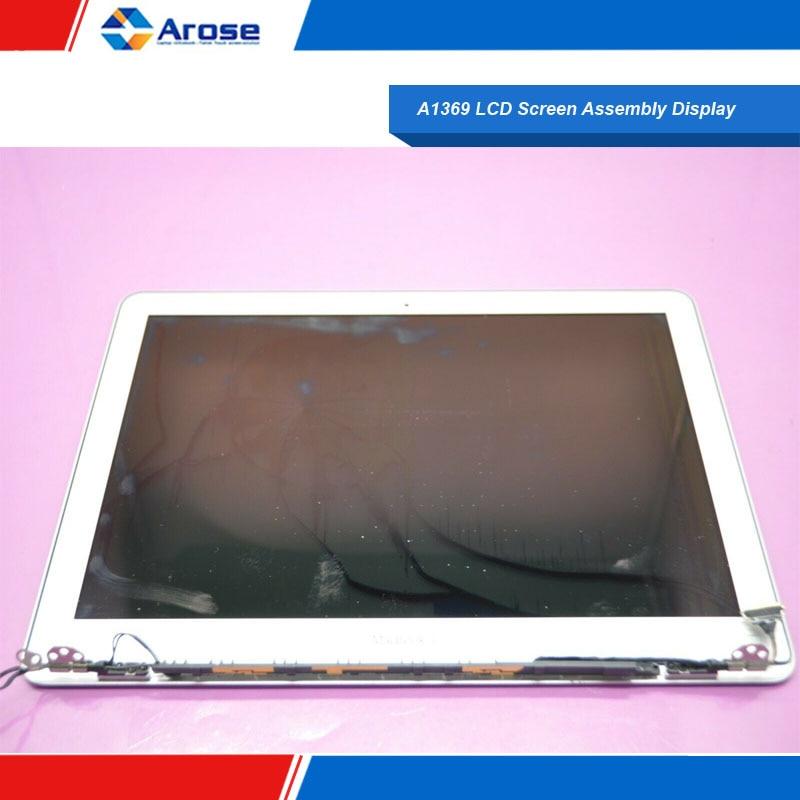 A1369 montaje de pantalla LCD Display 2013-2017 MC503 MC965 MD231 EMC 2392 EMC 2469 A1369 asamblea de pantalla LCD de pantalla