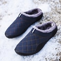Cotton Slippers Men Winter Outdoor Men Shoes WaterProof Cold-Proof Casual Shoes Men Plush Warm Man Footwear Big Size 39-48