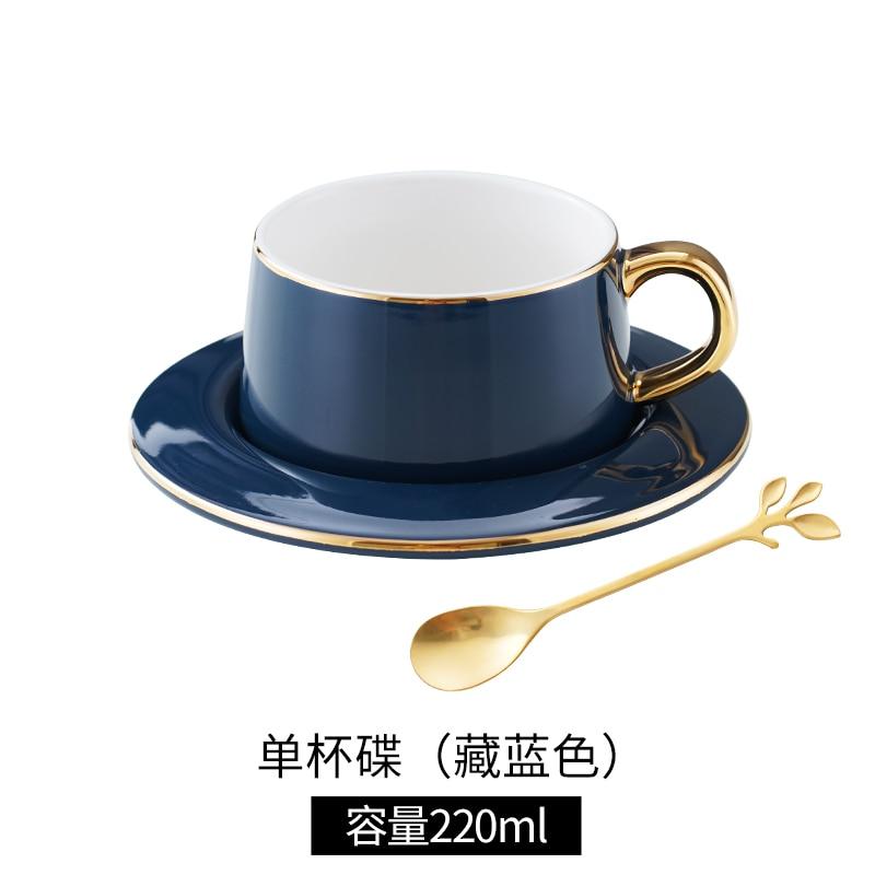 مضحك الأوروبي أكواب القهوة مكتب فاخر الصيف فنجان قهوة بورسلين الذهب حافة ماتي خمر كوبك دو كاوي أكواب إسبريسو BC50BD