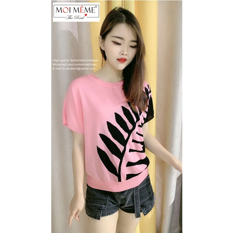 6 PCS Wholes 2021 New stylish women Knitted Tops Summer Cool and Breathable Fashion Women's Knitwear enlarge