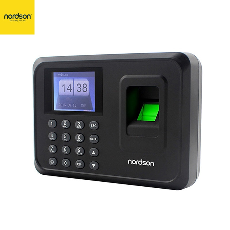 Nordson Orignial Biometric Fingerprint Time Attendance Teminal System Self-Service Report Employee Recognition Recording Device