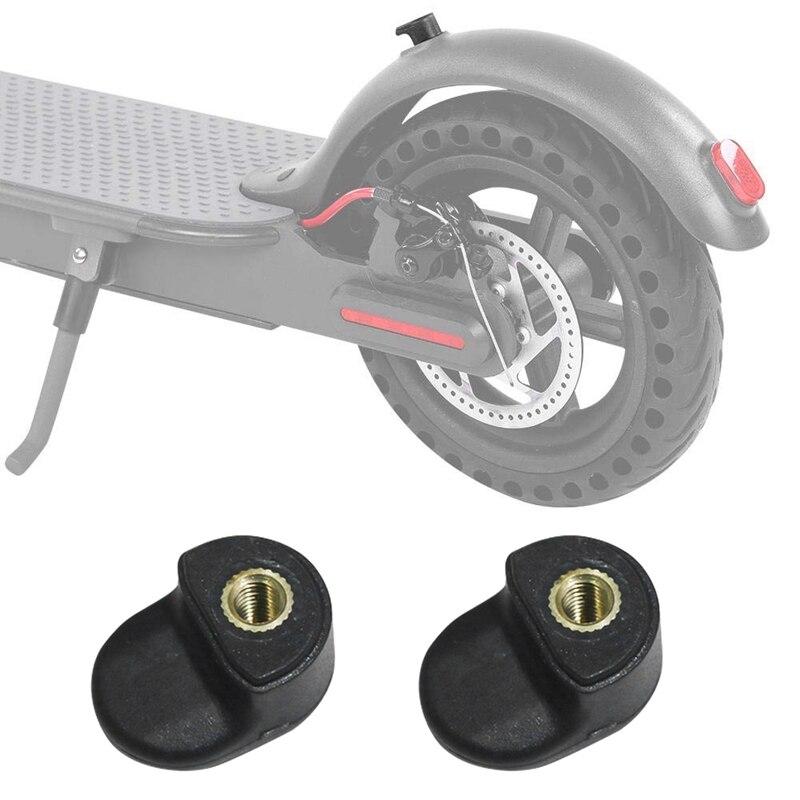2 шт. заднее крыло скутеры складной силы крюк аксессуары для Xiaomi Mijia M365 электрический скутер скейтборд цвет: черный