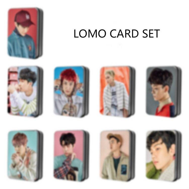 [MYKPOP] KPOP LOMO Tarjeta de foto tarjetas de papel KPOP colección de fans E9 SA18040411
