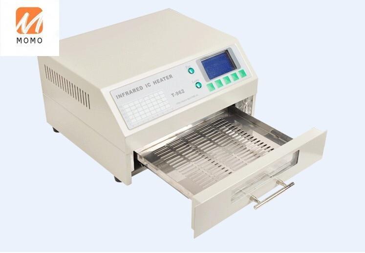 for T-962 Authorized Infrared IC Heater T962 Desktop Reflow Solder Oven for BGA SMD SMT Rework Station T 962 Reflow Wave Oven enlarge