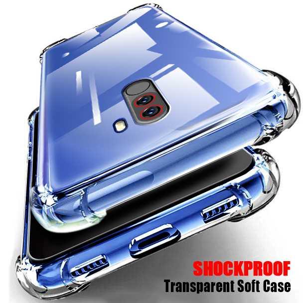 Shockproof Transparent Soft Case For Xiaomi Pocophone Poco F1 Phone Case Cover
