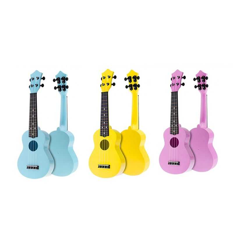 21 Inch Acoustic Ukulele Uke 4 Strings Hawaii Guitar Guitar Instrument for Kids and Music Beginner