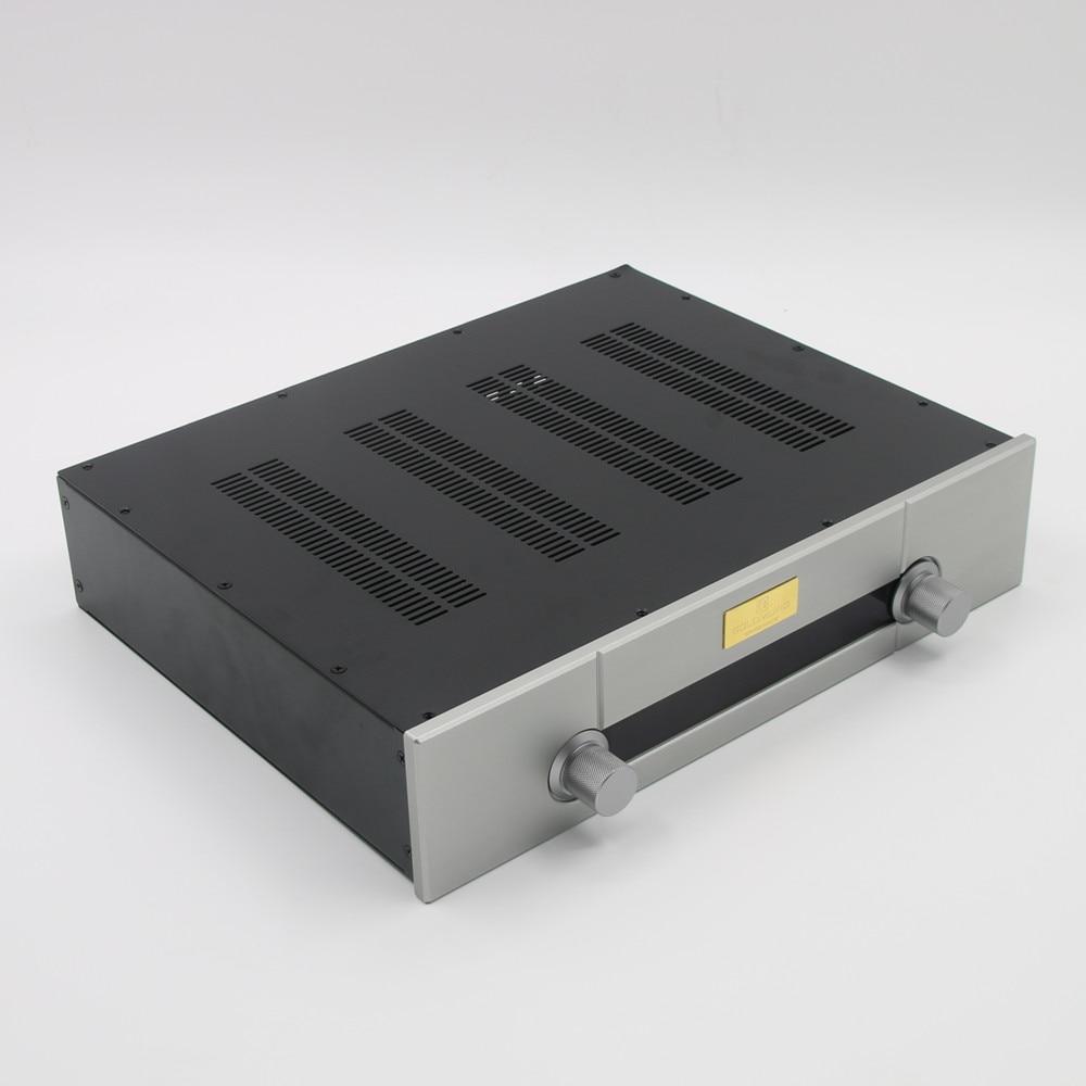 جوين-صندوق مضخم صوت ، مبيت HiFi لهيكل مضخم الصوت ، 430 × 95 × 340 مللي متر